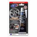 Черен силикон – високотемпературен BLECK PRO